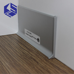 Flawless aluminum baseboard skirting board