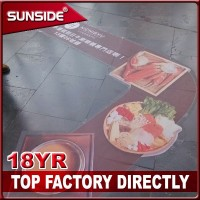 Digital printing Custom Printed Floor Decals ZBX-06