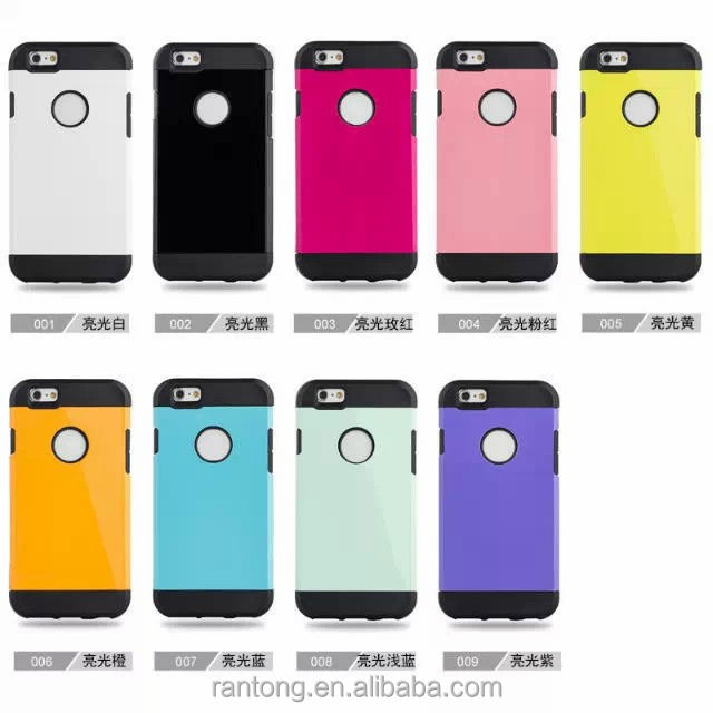 Whosale PC+TPU Material cover for moto g phone case,many models