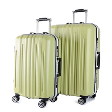 100%PC+ABS hard shell trolley luggage /nice fashion fine quality caster wheeled luggage suitcase for travelling,business,school
