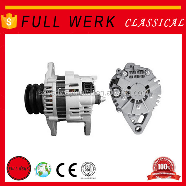 High quality FULL WERK 12v brushless alternator LR160-728,23100-7T403,TD25,TD27 car alternator for Hitachi