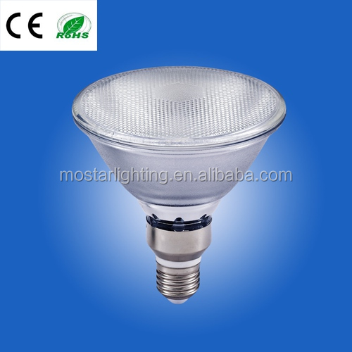 12w dimmable cob par38 housing waterproof glass cob par light