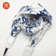 Dongguan Factory Fashion Custom Silk Scarves Flower Neck Camera Strap