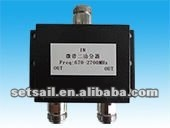 350-800MHz/350-520MHz 2-ways RF VHF Low Power Splitter/Divider