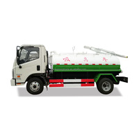 Factory Supply Sewage Suction Truck Vacuum Cleaner Truck
