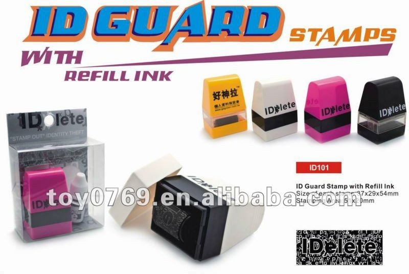 ID Guard Stamp to Pretect Your ID from ID Thief