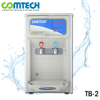 Counter-Top Water Cooler Dispenser with 5-Stage R.O. Water Filtration System