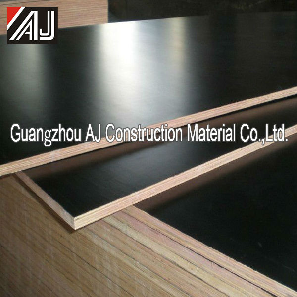 Whole sale price black film faced plywood shuttering material for concrete formwork