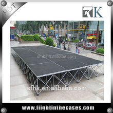 18mm Black Plywood Stage For Fashion Show Stage