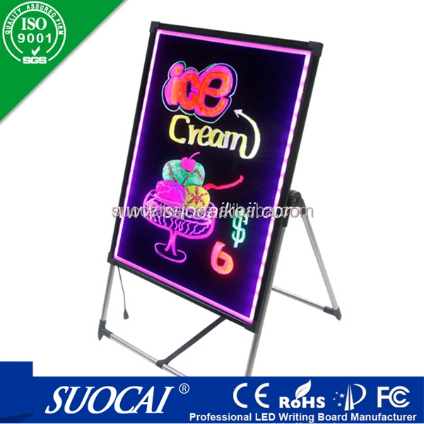 New LED product message board portable led writing board Electronics Inventions