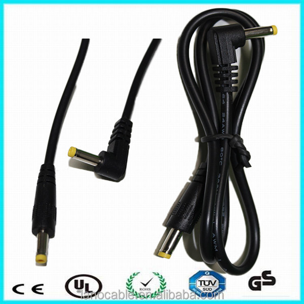 Costomized TUV 3.5*1.35mm plug dc cable