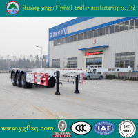 Tri-axle Container Car Transport Trailer for Sale from China Manufacturer