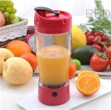 2018 shaker bottle top quality custom electric blender shaker bottle, portable blender for protein shakes