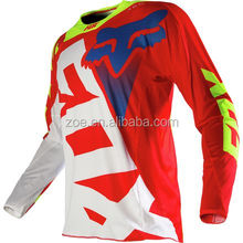 Fox Racing 2016 360 Jersey 100%Polyester fashion design wholesale cheap motocross jersey