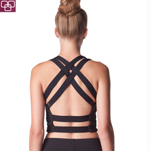 2018 New Arrival High Quality Sports Gear Ladies Sexy Sport Crop Top