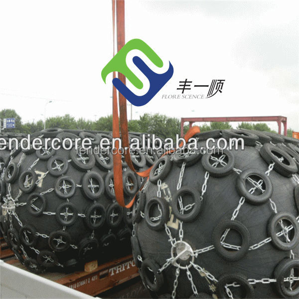 Qingdao super arch rubber fender used for dock, ship