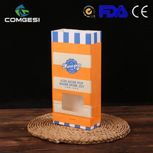 stand up pouch sealed with window and zipper kraft paper bag brown for dried food packaging