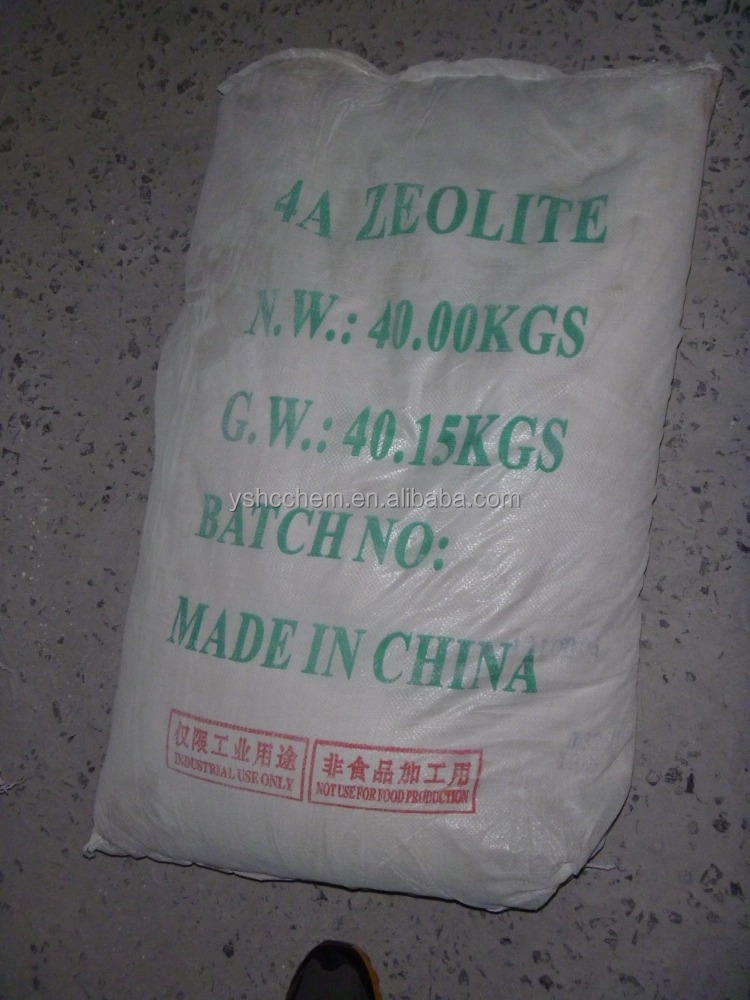 China synthetic zeolite type 4a powder price for detergent