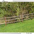 High tensile horse fence rail