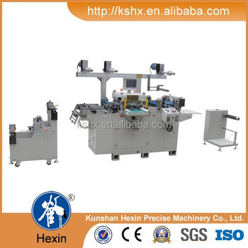 Hexin brand auto feed die cutting machine