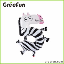 5 Digital Number Zebra Shaped Animal Walking Balloons Lovely Number Shape Animal Giant Balloons For Kids Cute Balloon In China