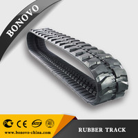 AIRMAN AX25.3 250x52.5x73 Rubber track agriculture vehicle rubber crawler,rubber track for sale