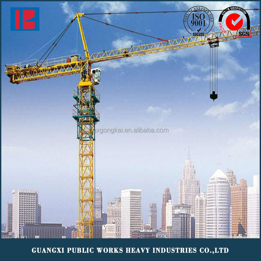QTZ100(6015) Construction Tower Crane