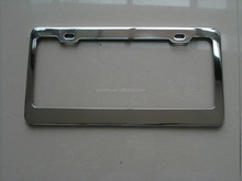stainless steel license plate frames