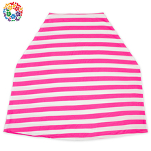 White And Pink Stripes Cheap Breast Feeding Cover Canopy Funny Cotton Car Seat Covers