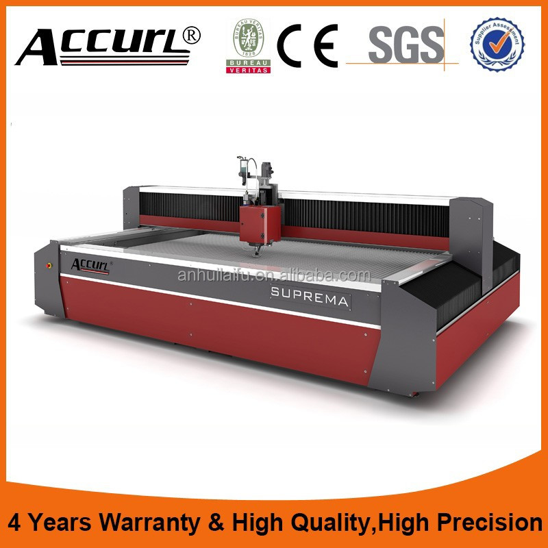 CNC 3AXIS portable water jet cutting machines for carbon steels