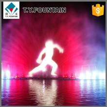 Big Size Water Lake Screen Movie Fountain