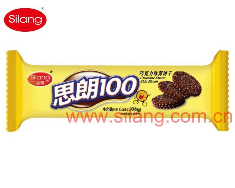 90g Chocolate Thin Biscuits