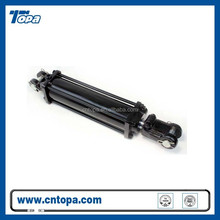 China famous single acting telescopic weldedhydraulic cylinder stops