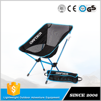 Many specialized equipment Stackable and comfortable portable folding stool travel chair