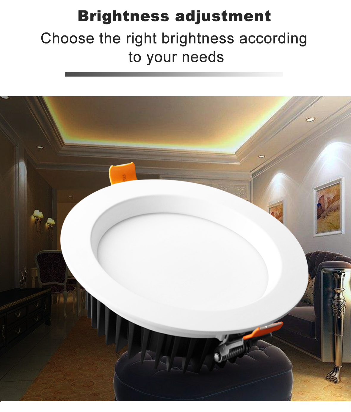 Smart Home 12W LED RGB+CCT Downlight Bulb Amazon Alexa Echo Plus Voice Control Dual White And Color LED Downlighters