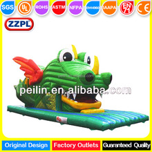 ZZPL Crocodile Inflatable slide for toddlers, dragon inflatable water slide