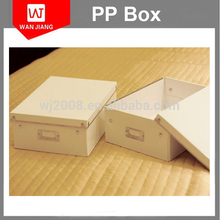 High Quality PP Luxury clear plastic pp shoe storage box for baby