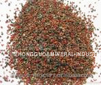 With SGS report Fe2 O3 29.5% 30/60 mesh garnet for polishing wood surface