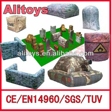 {Alitoys} 2013 new inflatable air bunker paintbal designs
