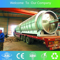 sexual machines waste tyre recycling plant to fuel oil pollution free