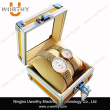 Aluminum Watch and Jewelry Storage Travel Cases