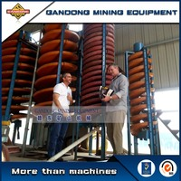 Simple operation but efficient spiral chute machine for sale