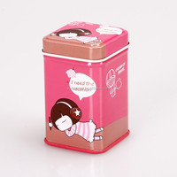 wholesale plain tin lunch box mini tin box cosmetic tin box HQTB00028