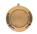 65cm blank antique red bronze plated sport competition medal