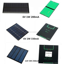 2017 Hot sale chinese manufacturer small 1 watt solar panel for camping