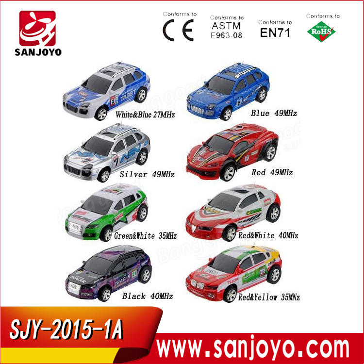 Wholesale 1:63 micro brushless rc car with electrics Kit 4 Channel Small Car Toys SJY-WL 2015-1A