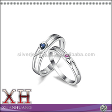 China 925 Silver Ring for Couple Simple and Fashion Designs