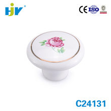 Competitive price wholesale india ceramic cabinet door knobs