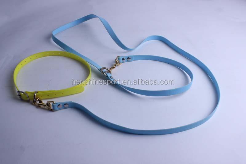 Fluorescence easy handling free hands dog leashes