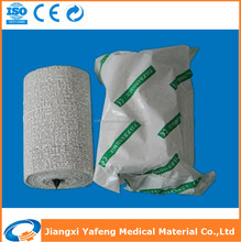 Dried gypsona waterproof medical plaster bandage
